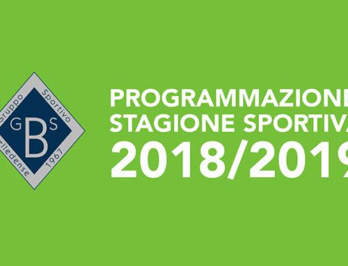 Al via la nuova stagione sportiva 2018/19