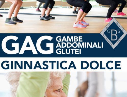 Corsi di GAG e Ginnastica Dolce